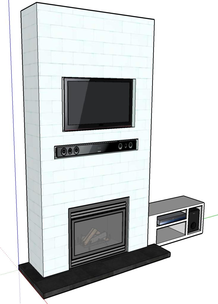 tiled fireplace surround build plansm