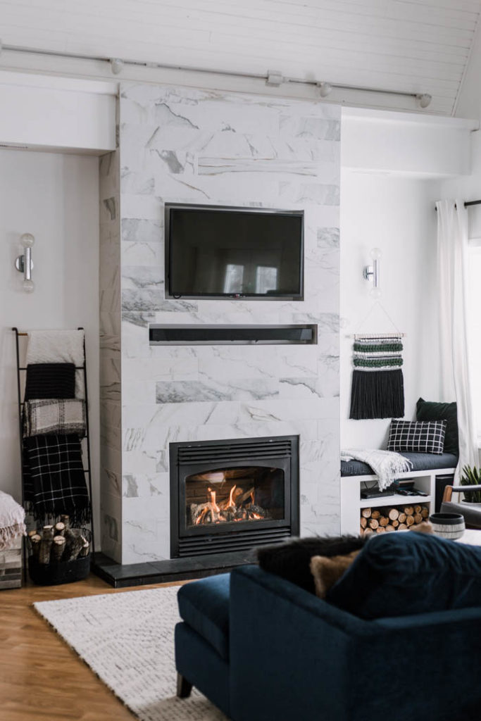 How To Build Your Own Fireplace Surround Hide Tv Wires Love