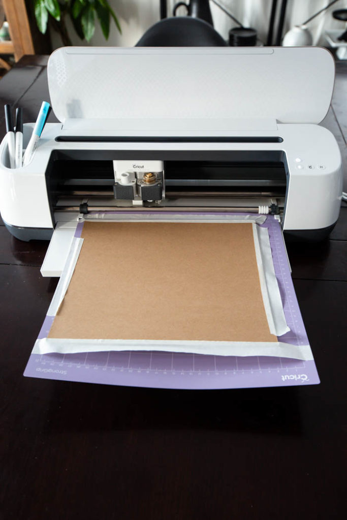 how to cut chipboard on the cricut