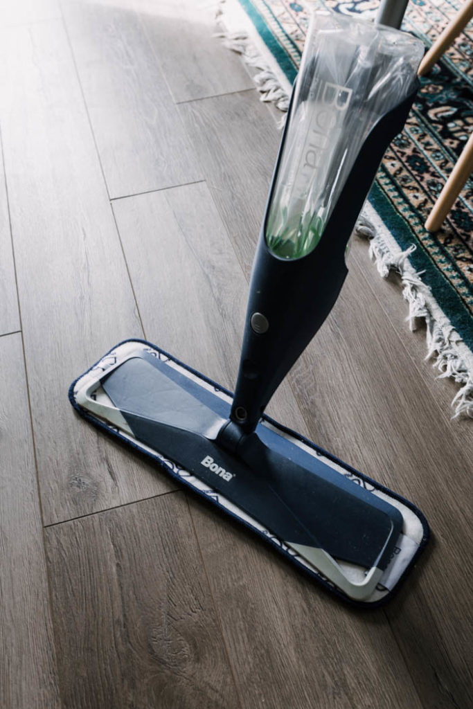 Bona floor spray mop for laminate