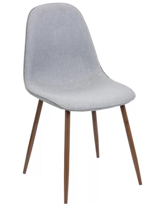 light grey dining chair