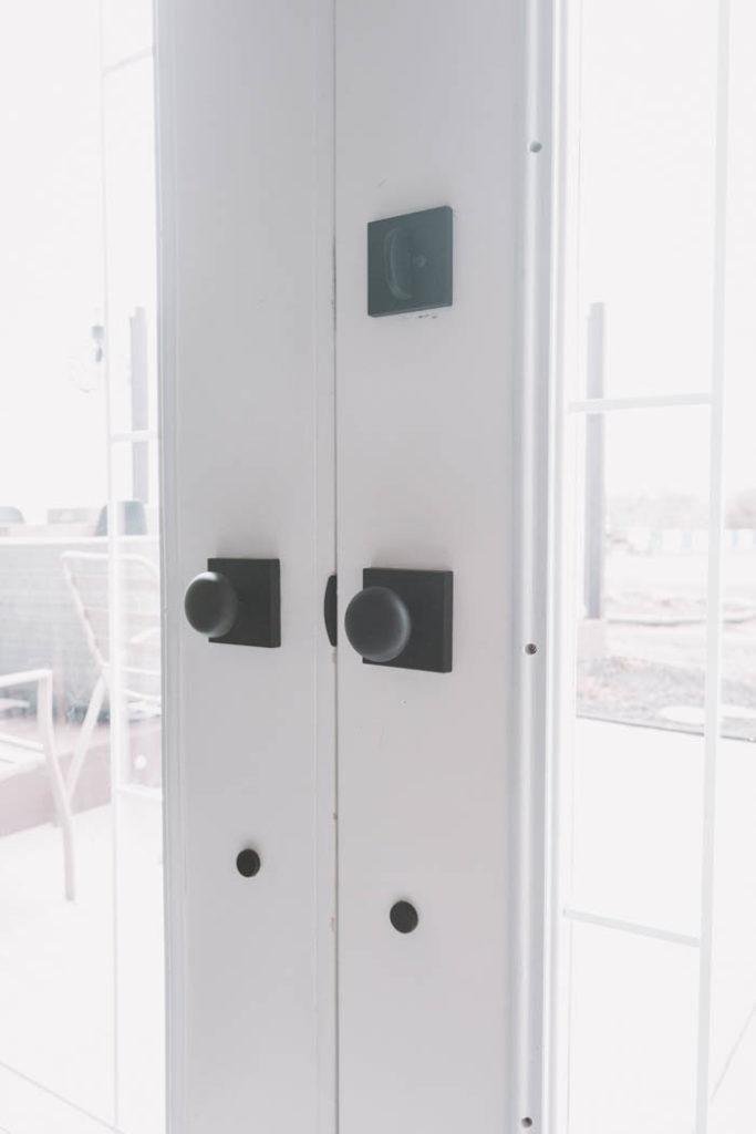 schlage century hardware install