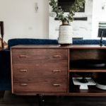 Mid-Century Modern Sideboard Makeover [How to Strip and Refinish Furniture]