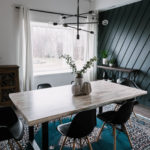 Our Weekend Renovation: Modern Dining Room Reveal