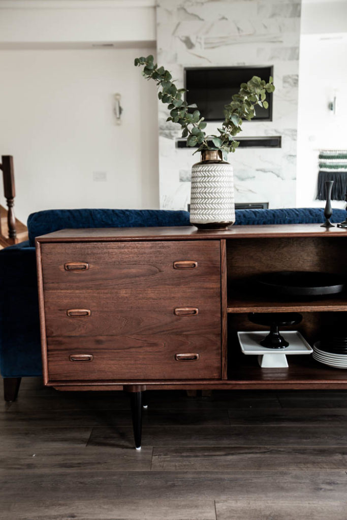 Beautiful walnut sideboard