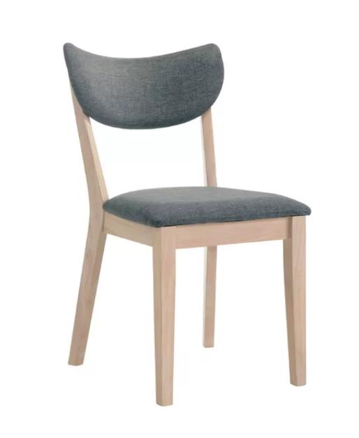 modern light wood dining chair