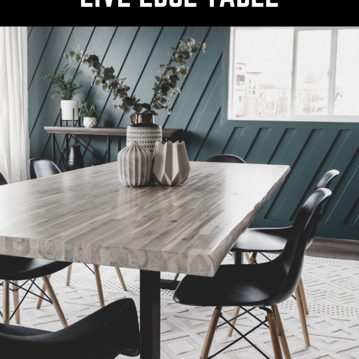 DIY Live Edge Table