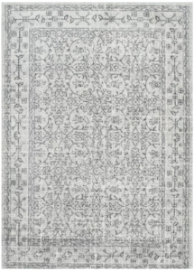 Grey contemporary rug