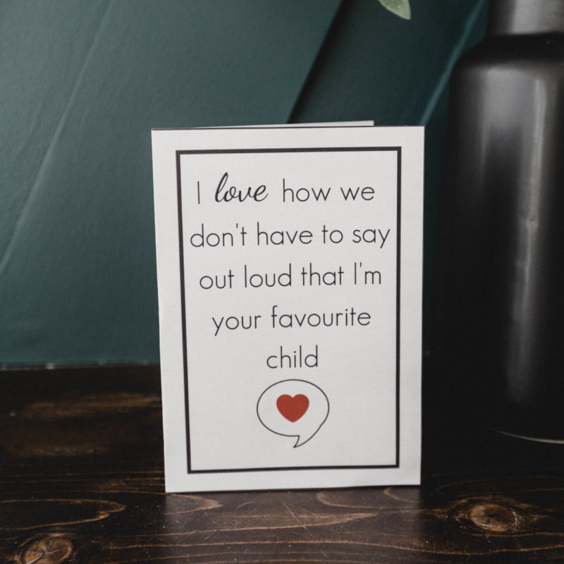 Free printable funny mother's day card