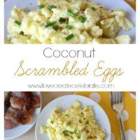 Coconut Scrambled Eggs