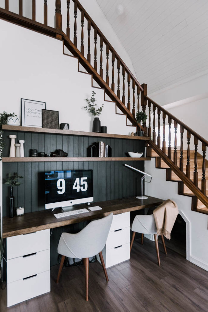 DIY modern office space