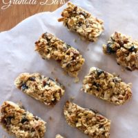 Peanut Butter, Maple & Bacon Granola Bars