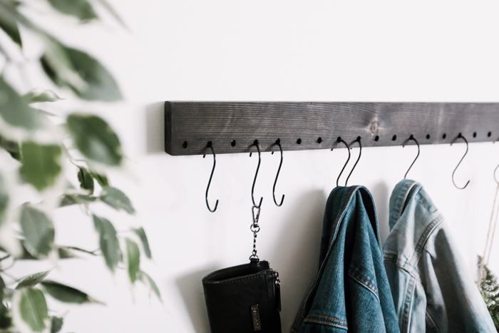 entryway coat rack for the wall