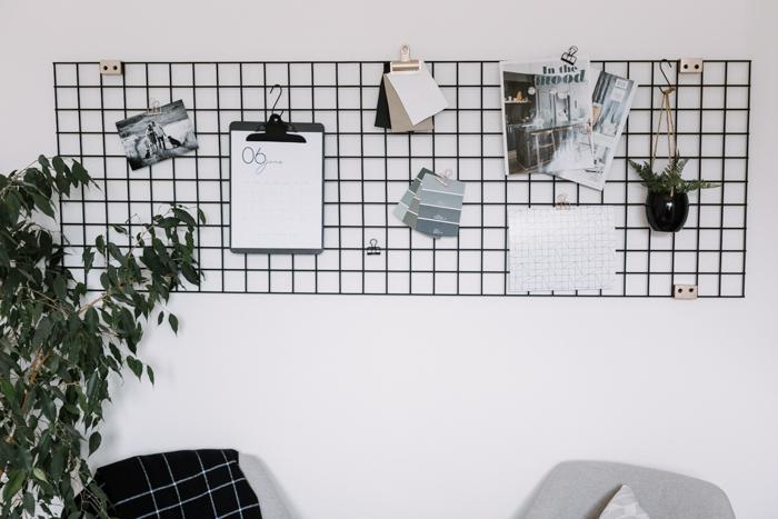 nordic metal grid board