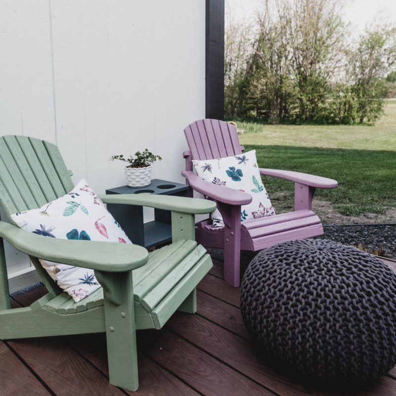 kids outdoor muskoka chairs
