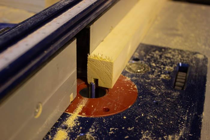 making wooden brackets