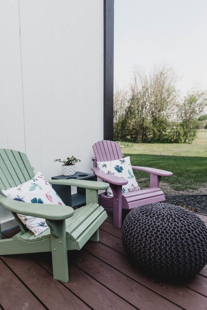 painted adirondack chairs for kids
