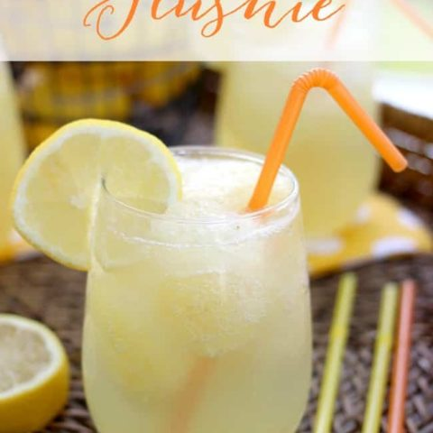 Tropical Slushie Mixed Drink