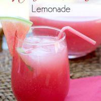 The Perfect Watermelon Lemonade