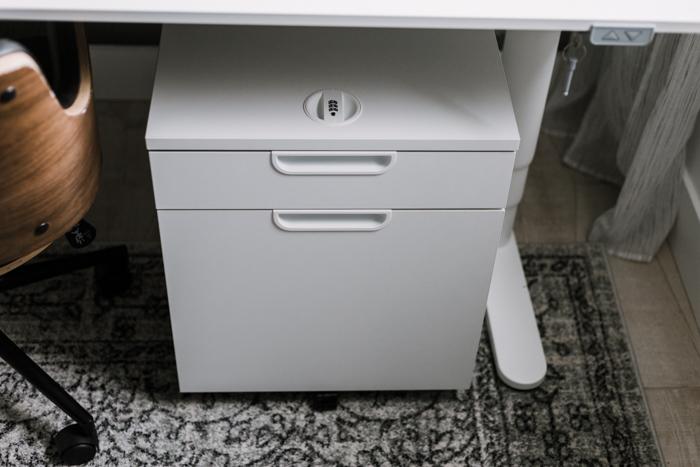 white file folder cabinet