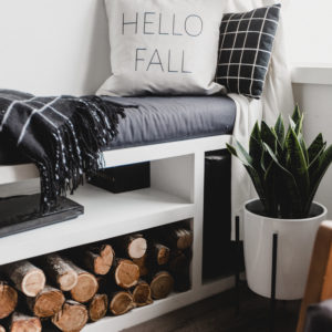 Modern Fall Pillow
