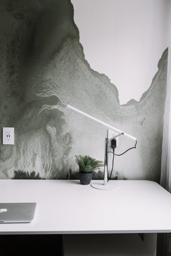 sharing how to install a wall mural