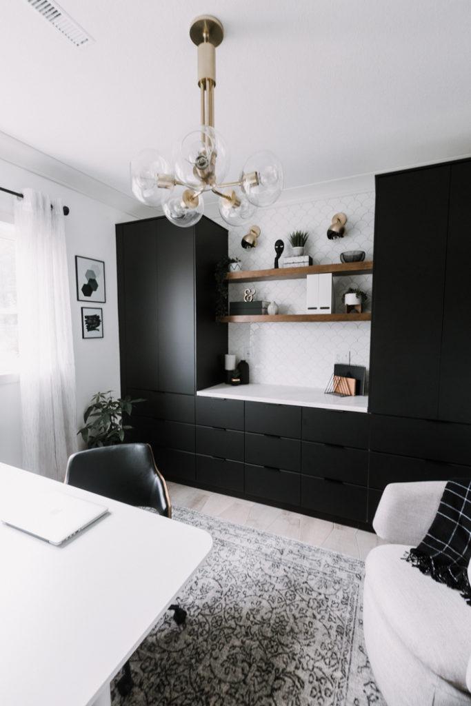 Beautiful office chandelier