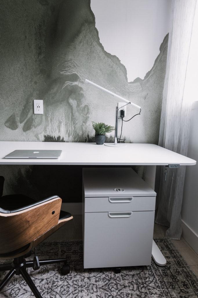 beautiful modern office wall mural