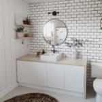 Gorgeous tiled bathroom wall