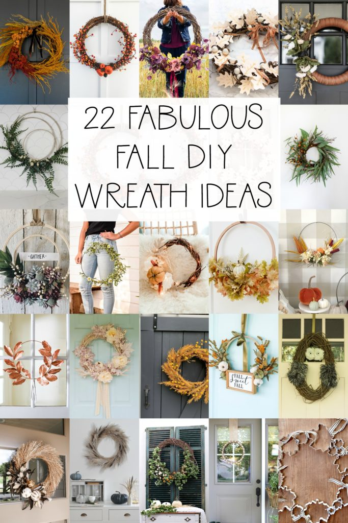 22 Fabulous Fall DIY Wreaths