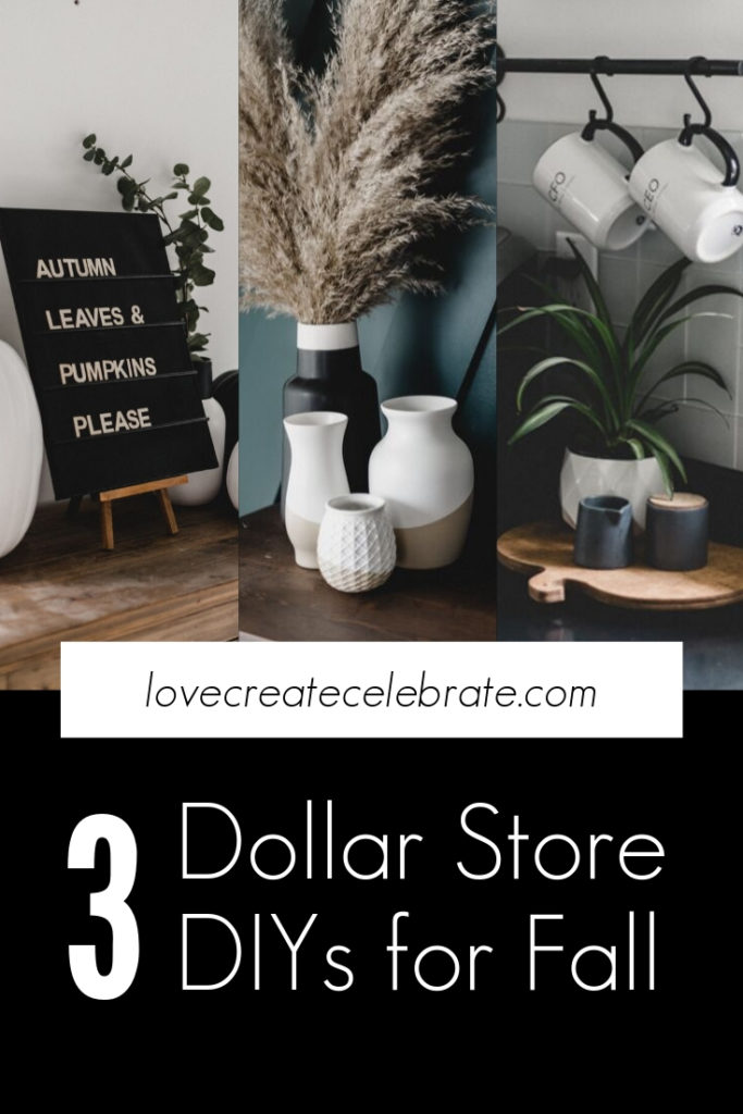 Great Modern Dollar Store DIY projects