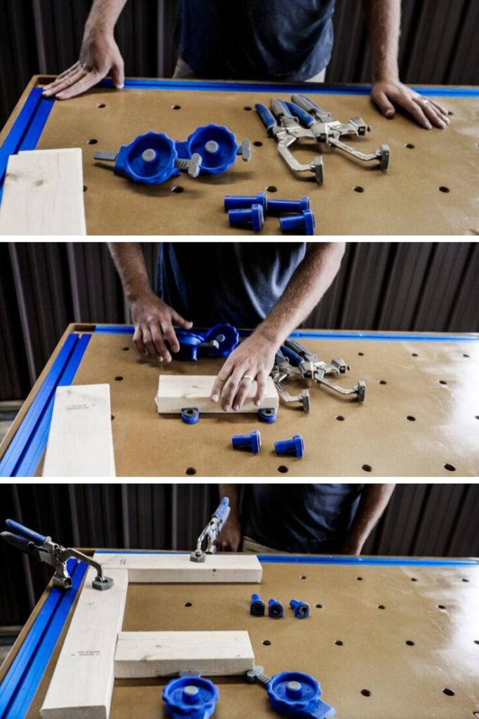 custom workbench for kreg tools