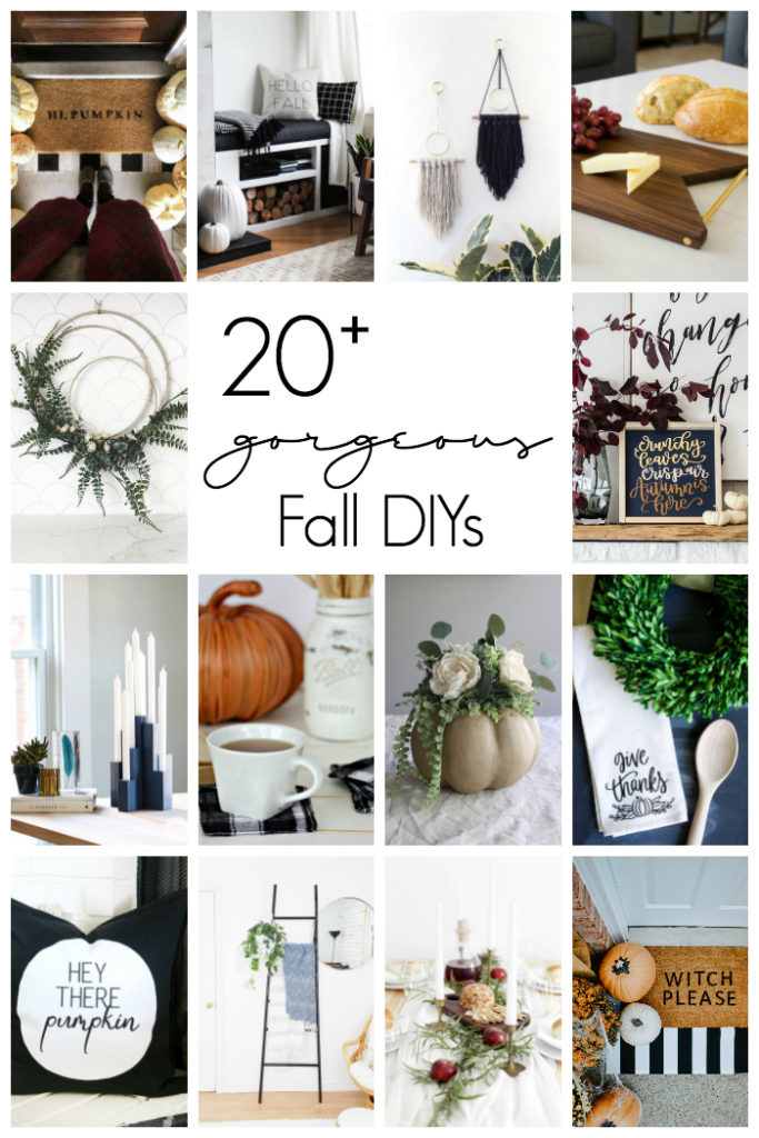 Modern Diy Fall Decor Ideas Love Create Celebrate