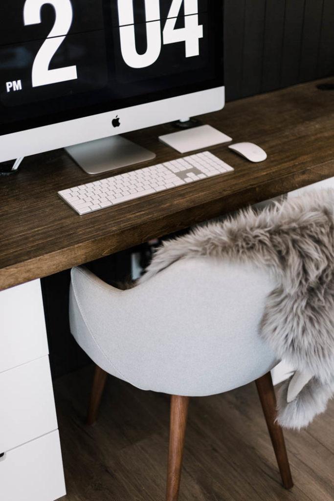 Modern DIY Desk Space