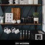 modern coffee station