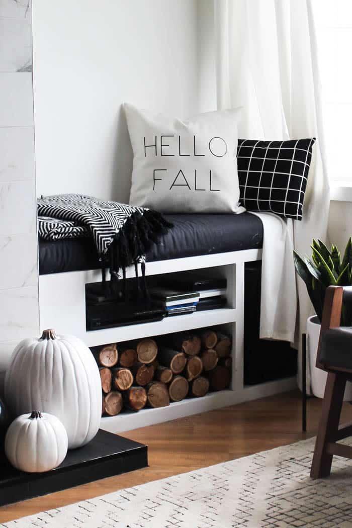 Hello Fall DIY Pillow