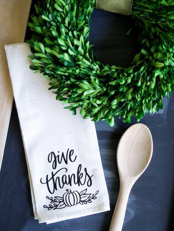 Thanksgiving Tea Towel
