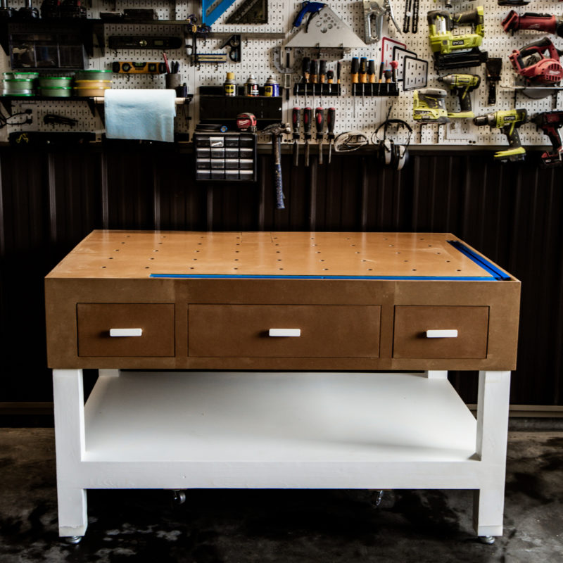 DIY workbench plans for the shop