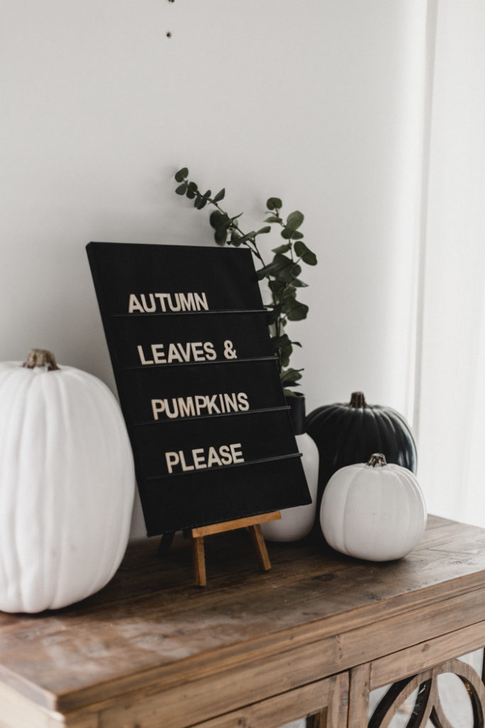 Easy DIY Letter Board with Dollar Store Supplies