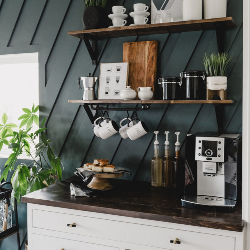 Modern coffee station