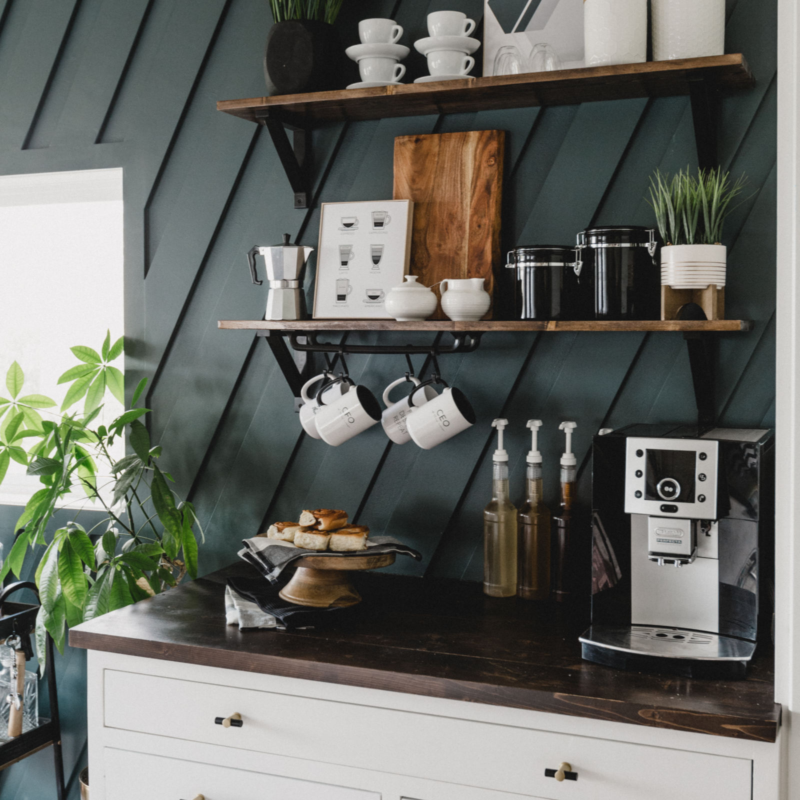 A Modern DIY Coffee Station [for the Home] - Love Create ...