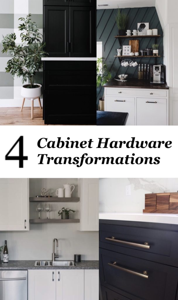 4 cabinet hardware transformations