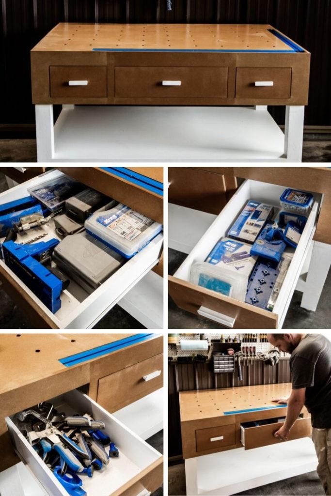 DIY Kreg workbench