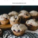 Delicious saskatoon berry muffin recipe