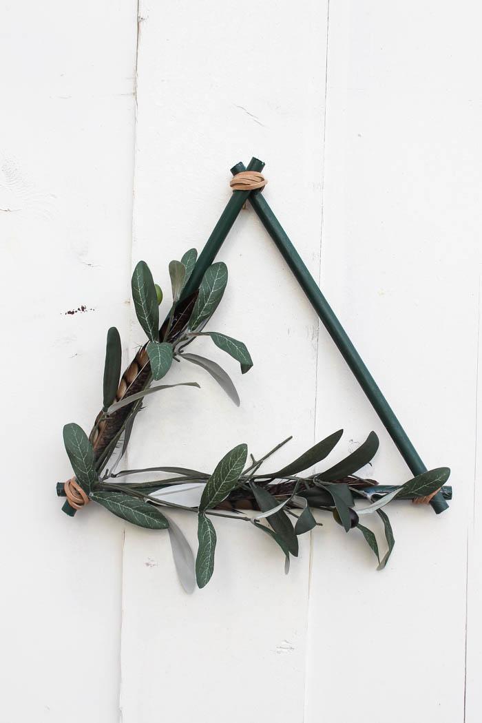 Modern Boho Fall Wreath