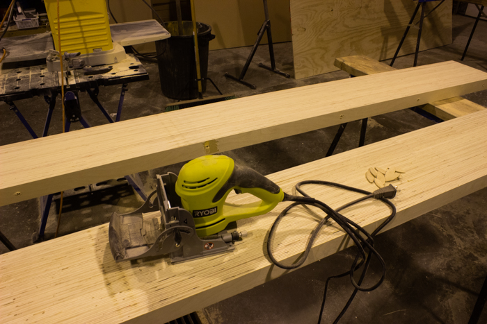 Using Biscuit Joinery for DIY Wood Desktop