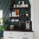 stunning DIY coffee station