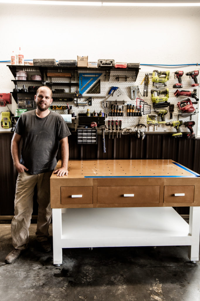 free plans for modern workbench
