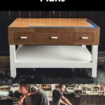 modern DIY workbench