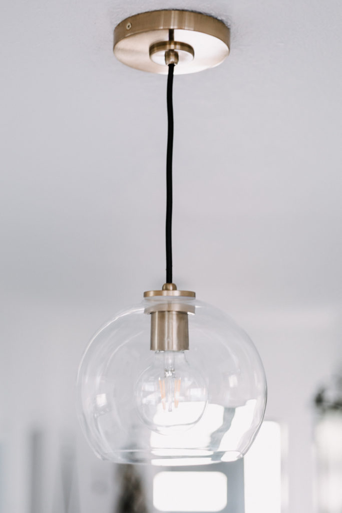 crate and barrel arren pendant